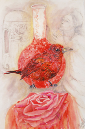 "Ann McCoy ""The Queen and Red Bird""  2011"